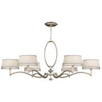 Fine Art Lamps 771740ST Allegretto 6 Light 51 inch Silver Chandelier Ceiling Light