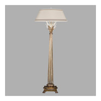 Fine Art Lamps Crystal Laurel 1 Light Floor Lamp in Warm Antiqued Silver Leaf 772520ST