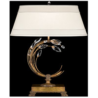 Fine Art Lamps Crystal Laurel 1 Light Table Lamp in Gold Leaf 773210ST