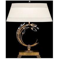 Fine Art Lamps 773210ST Crystal Laurel 31 inch 150 watt Gold Table Lamp Portable Light
