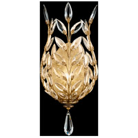 Fine Art Lamps Crystal Laurel 1 Light Coupe in Warm Antiqued Silver Leaf 773950ST