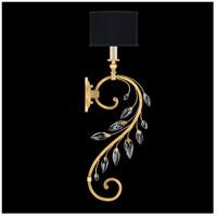 Fine Art Lamps 774650-SF34 Crystal Laurel 1 Light 8 inch Gold Leaf Sconce Wall Light