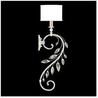 Fine Art Lamps 774650-SF41 Crystal Laurel 1 Light 8 inch Silver Leaf Sconce Wall Light