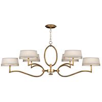 Fine Art Lamps 780040-2ST Allegretto 6 Light 63 inch Gold Chandelier Ceiling Light