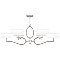 Fine Art Lamps 780040-SF41 Allegretto 6 Light 63 inch Silver Leaf Chandelier Ceiling Light