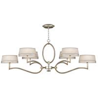 Fine Art Lamps 780040ST Allegretto 6 Light 63 inch Silver Chandelier Ceiling Light