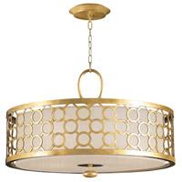 Fine Art Lamps 780140-SF33 Allegretto 3 Light 33 inch Gold Leaf Pendant Ceiling Light