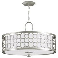 Fine Art Lamps 780140-SF41 Allegretto 3 Light 33 inch Silver Leaf Pendant Ceiling Light