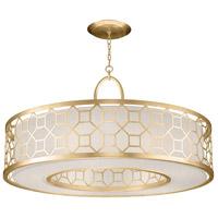 Fine Art Lamps 780340-SF33 Allegretto 5 Light 48 inch Gold Leaf Pendant Ceiling Light