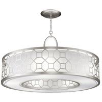 Fine Art Lamps 780340-SF41 Allegretto 5 Light 48 inch Silver Leaf Pendant Ceiling Light