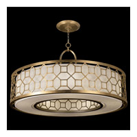 Fine Art Lamps 780340-2GU Allegretto 5 Light 48 inch Gold Pendant Ceiling Light photo thumbnail