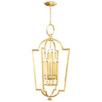 Fine Art Lamps 780440-SF3 Allegretto 8 Light 28 inch Gold Leaf Lantern