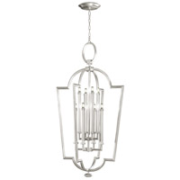 Fine Art Lamps 780440-SF4 Allegretto 8 Light 28 inch Silver Leaf Lantern