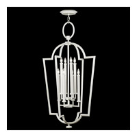 Fine Art Lamps Black and White Story 8 Light Lantern in Studio White Satin Lacquer 780440-5ST