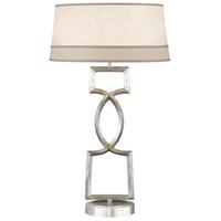 Fine Art Lamps 785010ST Allegretto 34 inch 150 watt Silver Table Lamp Portable Light
