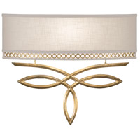 Fine Art Lamps Allegretto 1 Light Sconce in Burnished Gold Leaf 785650-2ST