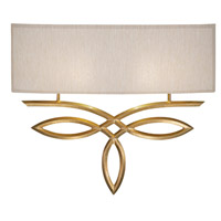 Fine Art Lamps 785650-SF33 Allegretto 1 Light 18 inch Gold Leaf ADA Sconce Wall Light