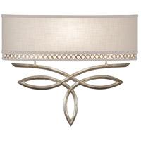 Fine Art Lamps 785650ST Allegretto 1 Light 18 inch Silver Wall Sconce Wall Light