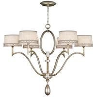 Fine Art Lamps 785840ST Allegretto 6 Light 39 inch Silver Chandelier Ceiling Light