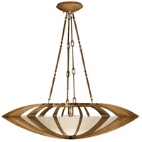 Fine Art Lamps Staccato 1 Light Pendant in Toned Gold Leaf 787040-2ST