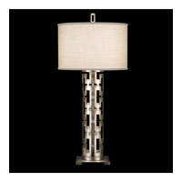 Fine Art Lamps 787310ST Allegretto Silver 33 inch 150 watt Platinized Silver Leaf Table Lamp Portable Light photo thumbnail