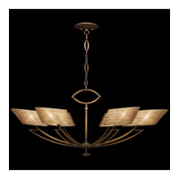 Fine Art Lamps Entourage 6 Light Chandelier in Rich Bourbon 788440ST