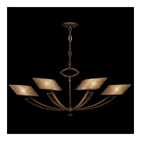 Entourage 6 Light 57 inch Rich Bourbon Chandelier Ceiling Light