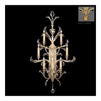 Beveled Arcs Gold 8 Light 27 inch Muted Gold Leaf Sconce Wall Light