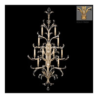Fine Art Lamps Beveled Arcs 12 Light Sconce in Gold Leaf 789450-2ST