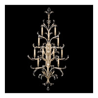 Fine Art Lamps Beveled Arcs 12 Light Sconce in Warm Muted Silver Leaf 789450ST