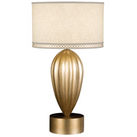 Fine Art Lamps Allegretto 1 Light Table Lamp in Burnished Gold Leaf 793110-2ST