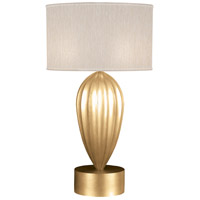 Fine Art Lamps 793110-SF33 Allegretto 33 inch Gold Leaf Table Lamp Portable Light