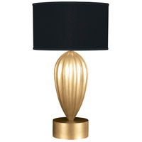 Fine Art Lamps 793110-SF34 Allegretto 33 inch Gold Leaf Table Lamp Portable Light