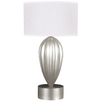 Fine Art Lamps 793110-SF41 Allegretto 33 inch Silver Leaf Table Lamp Portable Light