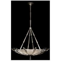 Fine Art Lamps 799140ST Vol De Cristal 3 Light 39 inch Silver Pendant Ceiling Light