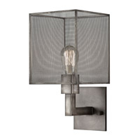 Fine Art Lamps Relativity 1 Light Sconce in Warm Antique Hand-Rubbed Steel 801150ST