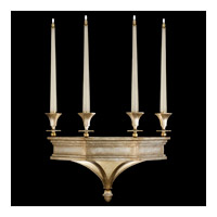 Candlelight 21st Century 6 Light 22 inch Warm Silver Leaf Sconce Wall Light
