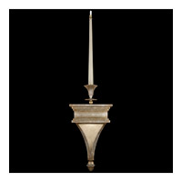 Fine Art Lamps Candlelight 21st Century 2 Light Sconce in Warm Silver Leaf 805050ST