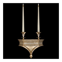 Fine Art Lamps Candlelight 21st Century 4 Light Sconce in Warm Silver Leaf 805250ST