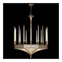 Fine Art Lamps Candlelight 21st Century 24 Light Chandelier in Warm Silver Leaf 805440ST