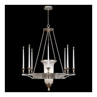 Fine Art Lamps Candlelight 21st Century 11 Light Chandelier in Clear Silver Leaf 805840-2ST