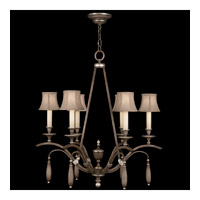 Fine Art Lamps Villa Vista 6 Light Chandelier in Hand Painted Driftwood 806640ST