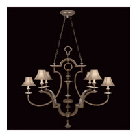 Fine Art Lamps Villa Vista 6 Light Chandelier in Hand Painted Driftwood 806840ST