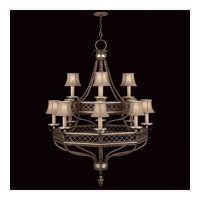 Fine Art Lamps 807240ST Villa Vista 12 Light 36 inch Hand Painted Driftwood Chandelier Ceiling Light photo thumbnail