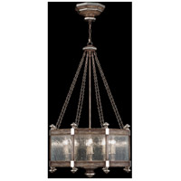 Fine Art Lamps Villa Vista 8 Light Pendant in Hand Painted Driftwood 807440ST