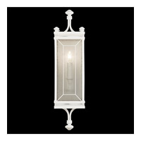 Black + White Story 1 Light 7 inch Studio White Satin Lacquer Coupe Wall Light