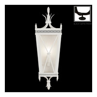 Fine Art Lamps Black and White Story 1 Light Coupe in Black Satin Lacquer 808250-6ST
