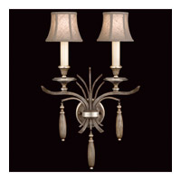 Fine Art Lamps Villa Vista 2 Light Sconce in Hand Painted Driftwood 808650ST