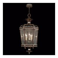 Villa Vista 5 Light 18 inch Hand Painted Driftwood Lantern Ceiling Light