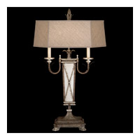 Fine Art Lamps 809610ST Villa Vista 36 inch 100 watt Hand Painted Driftwood Table Lamp Portable Light photo thumbnail